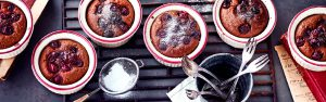 Schokokirschkuchen vom Grill