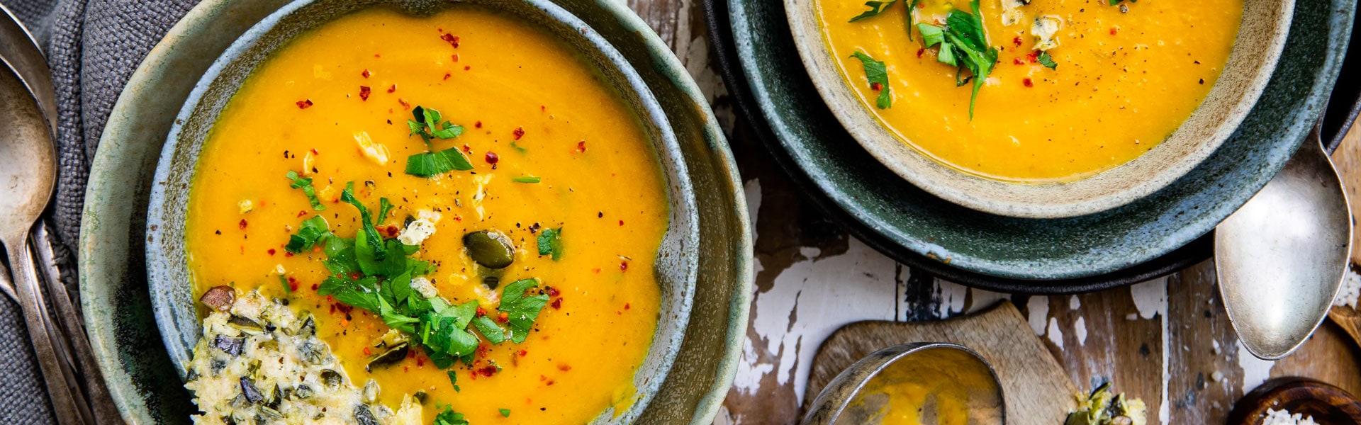 Kürbis-Birnen-Suppe