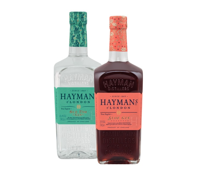 Weinmesse Gin-Tasting Hayman´s Old Tom Gin, True English Sloe Gin