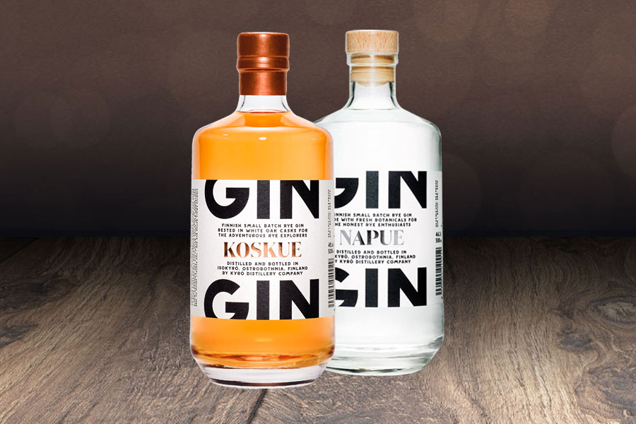 Kyrö Napue und Koskue Gin
