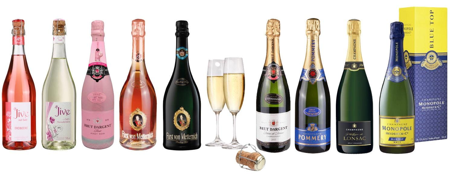 Sekt oder Champagner