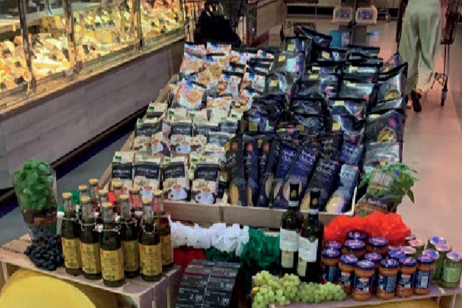 italienische Produkte bei WEZ