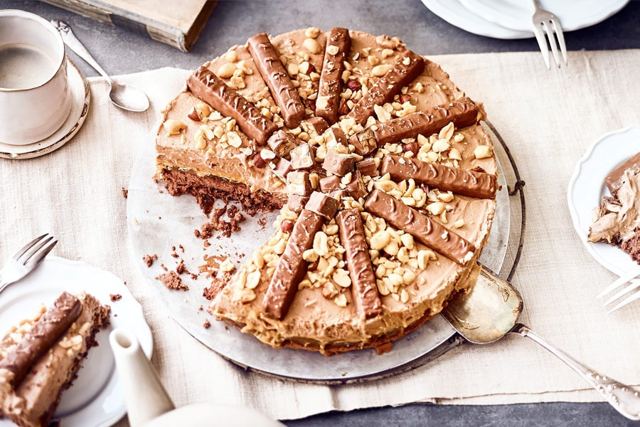 Snickers Torte