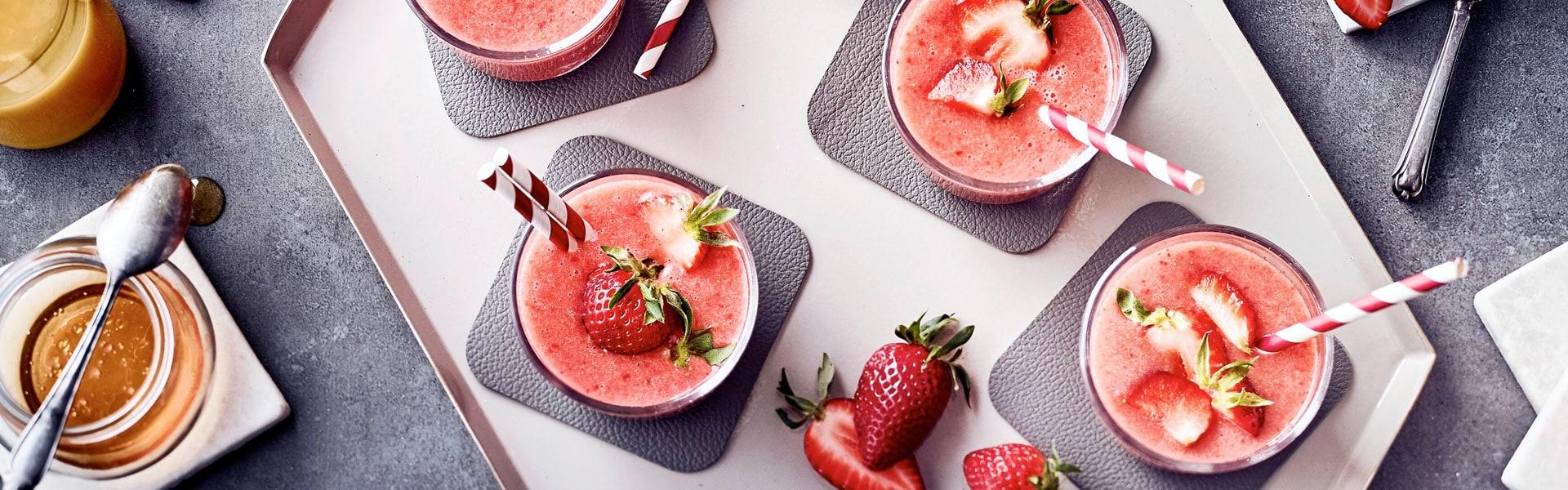 Erdbeer-Shake