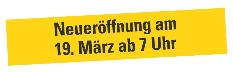 Neueröffnung WEZ Stiftsallee 19.03.2020