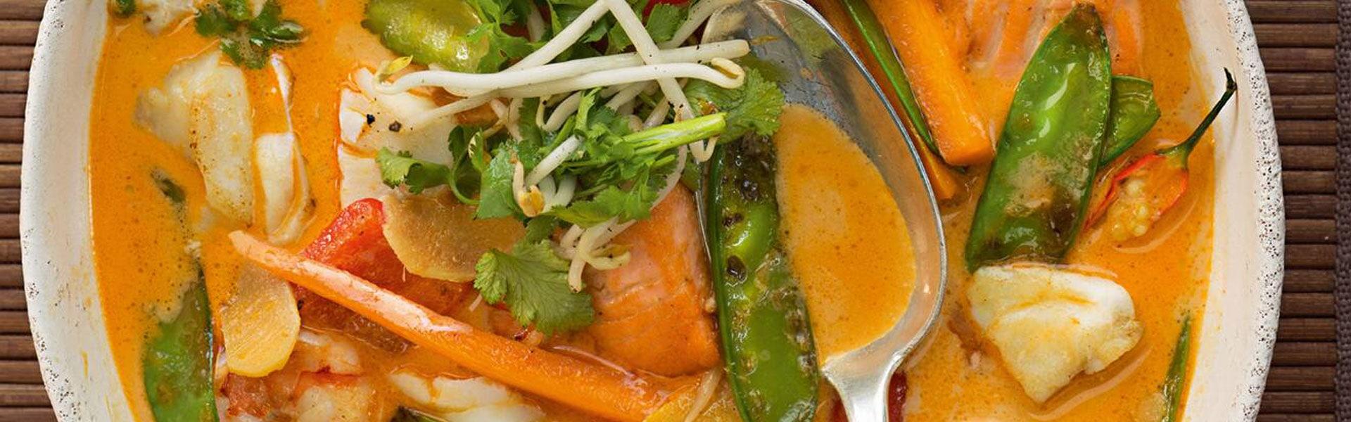 Fisch-Curry mit Gemüse