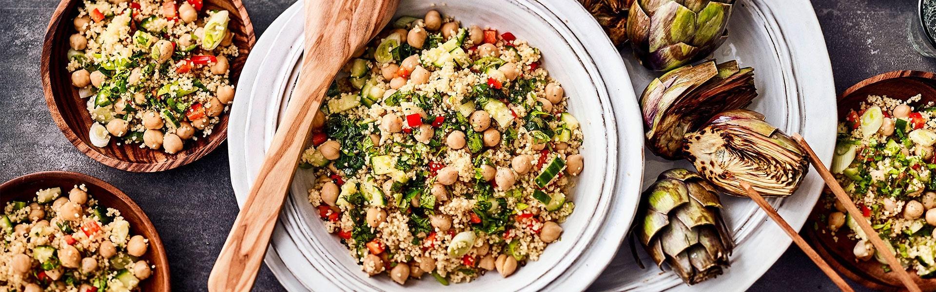 Kichererbsen-Couscous-Salat