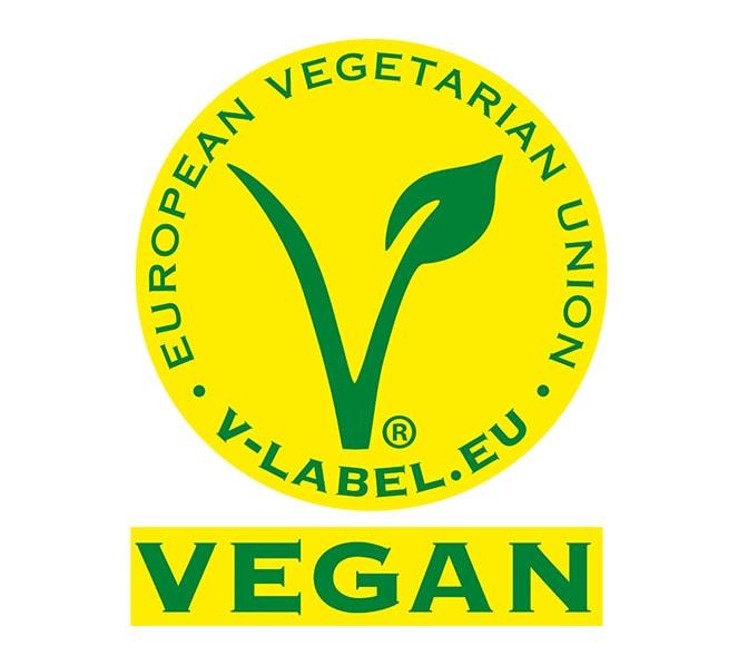 Kennzeichnung mit dem Vegan Label