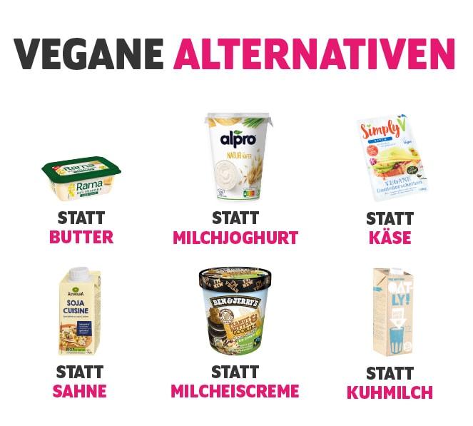 Vegane Alternativen