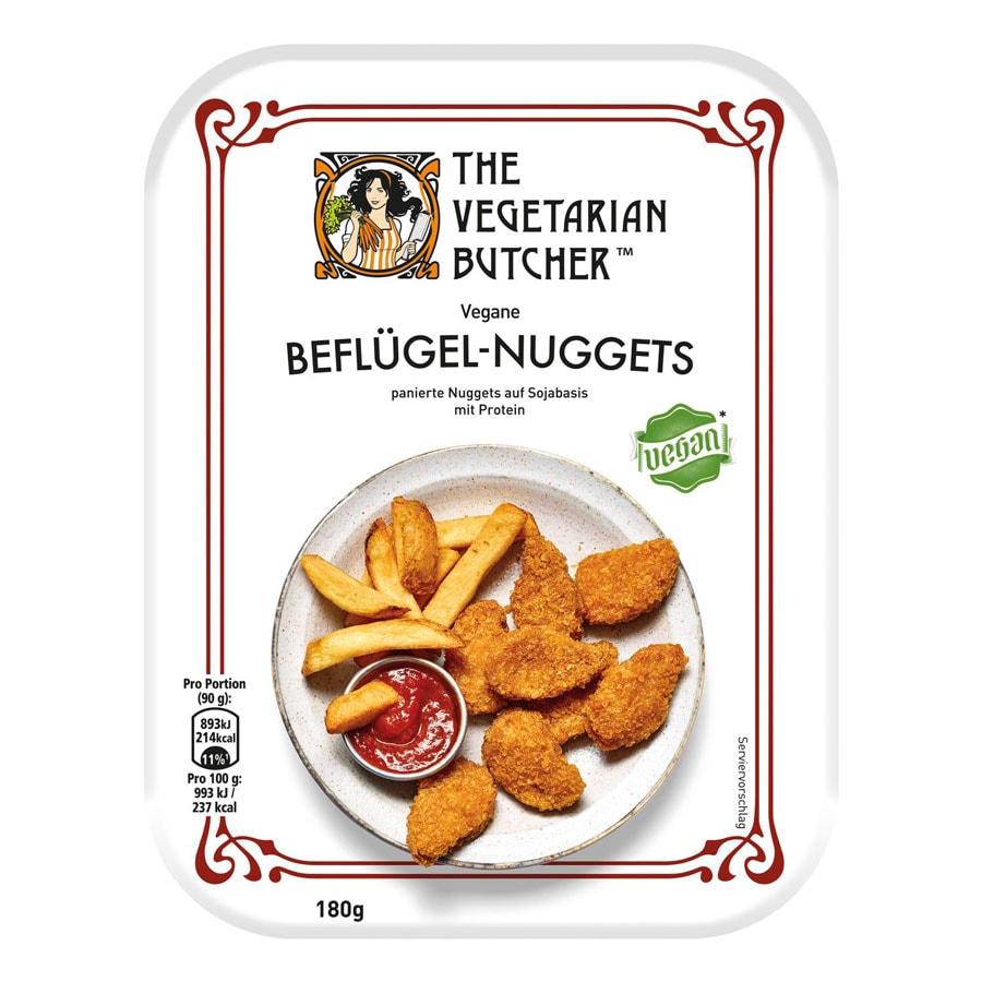 Vegane Beflügel Nuggets