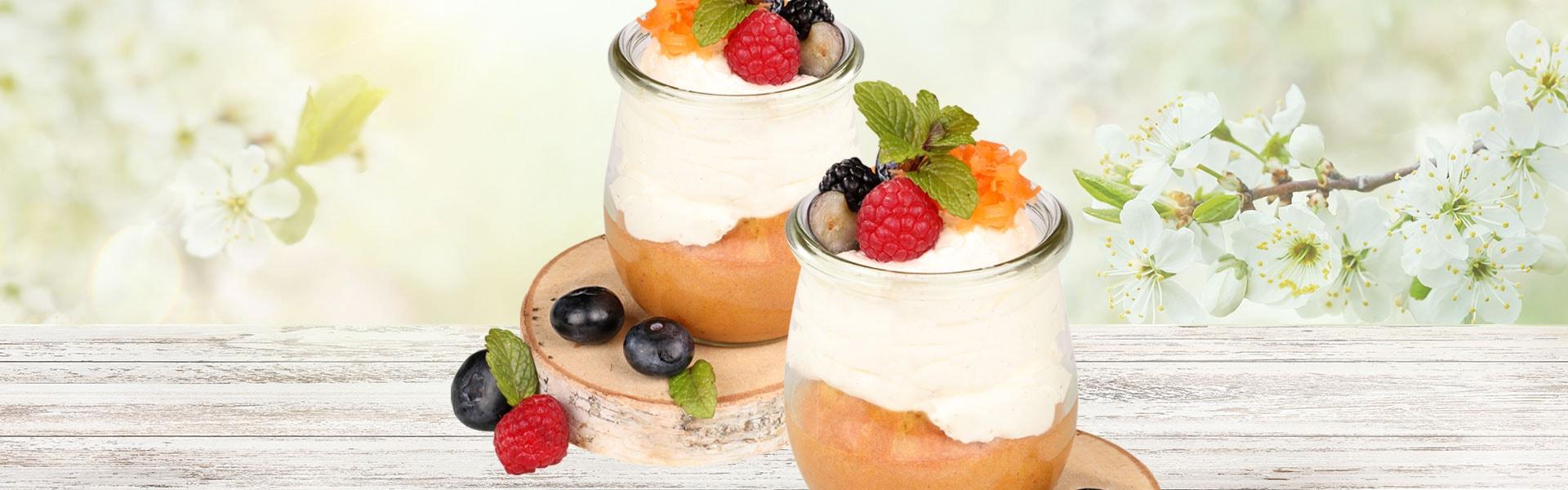 Carrot-Cake im Glas – Hollands Gourmet Service Osterrezepte