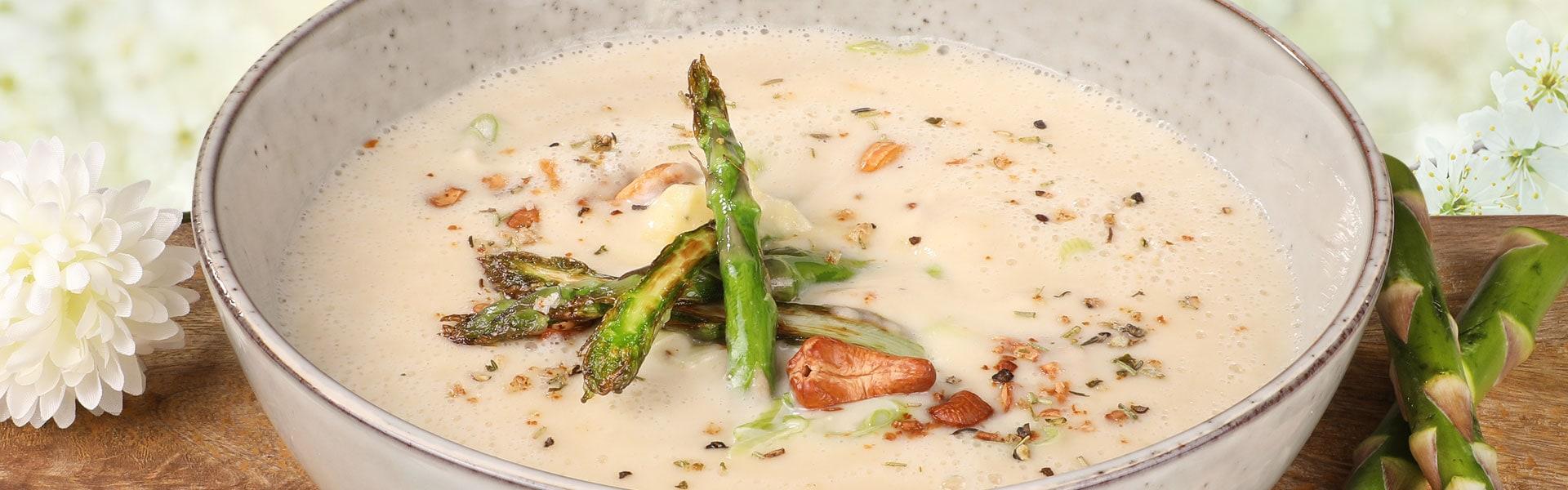 Cremesuppe vom Spargel – Hollands Gourmet Service Osterrezepte