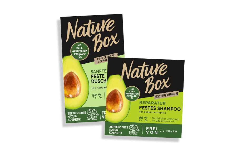 Nature Box Pflegeserie
