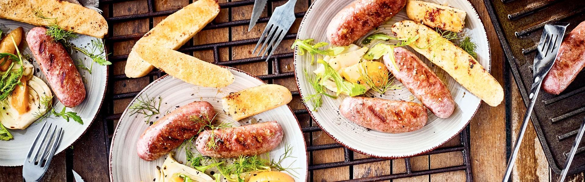 Salsiccia vom Grill