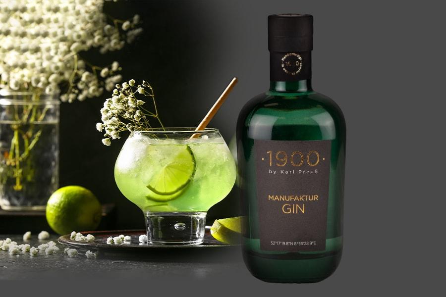 1900 Manufaktur Gin – Das Echte  in seiner reinen Form